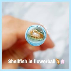 summer beach candy ball nail design