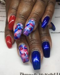 4th-of-July-nails-for-dark-brown-skin