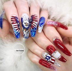 American-eagle-nail-design