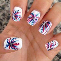 fireworks-inspired-patriotic-nails