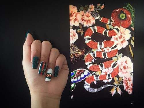 Gucci nails photo