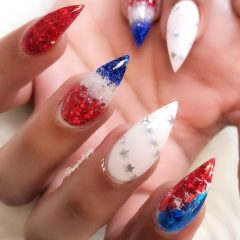 manicure-for-independence-day
