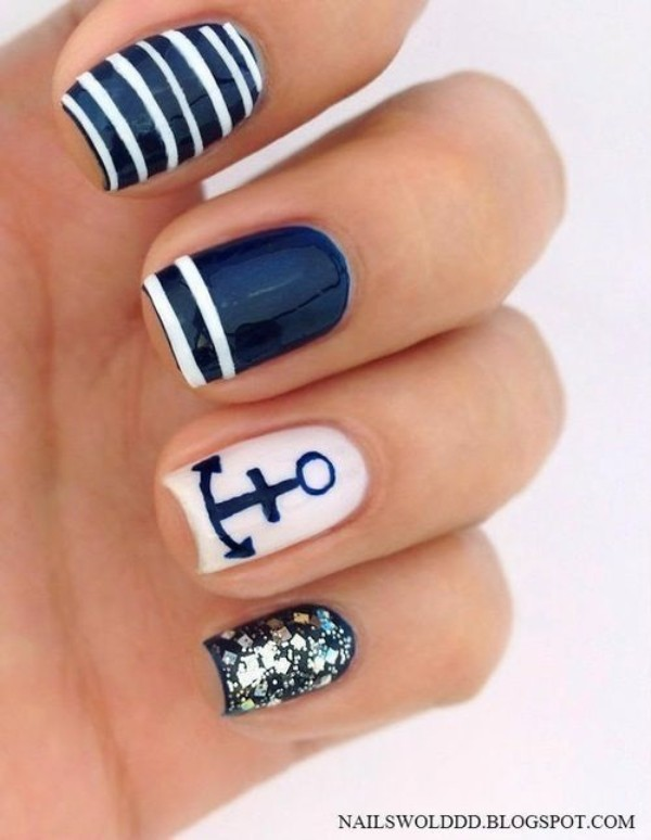 marine-nails-for-summer