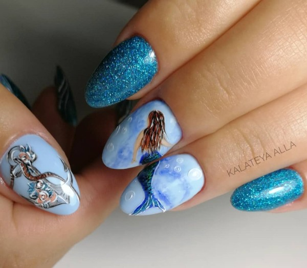 mermaid-manicure-for-summer