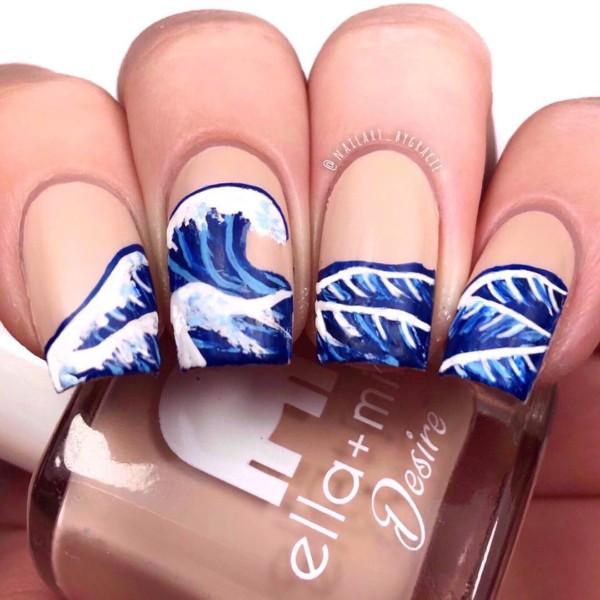 ocean-wave-nail-design