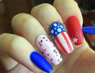 patriotic-manicure