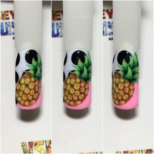 pineapple on nails