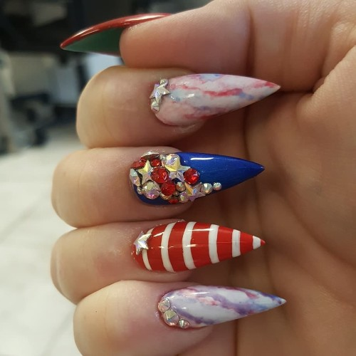 sparkling-patriotic-4thofjuly-nails