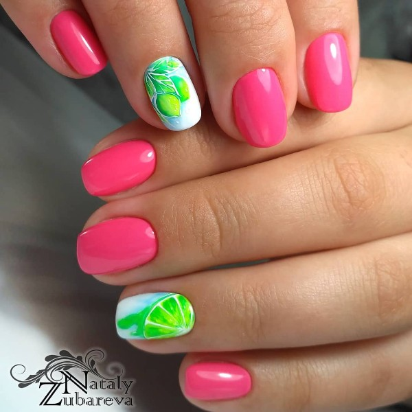 summer-lemon-nail-art