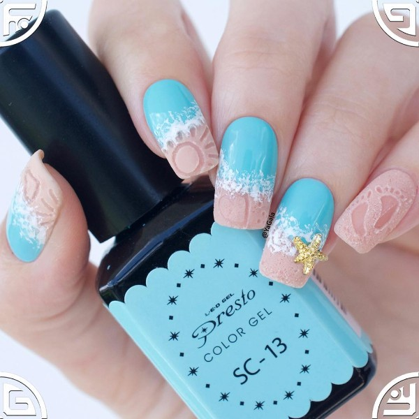 summer-nail-art-with-sand-drawings