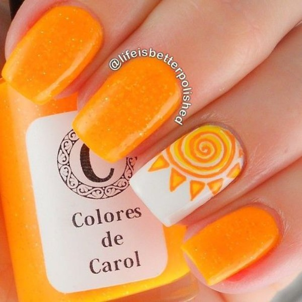 summer-orange-nails