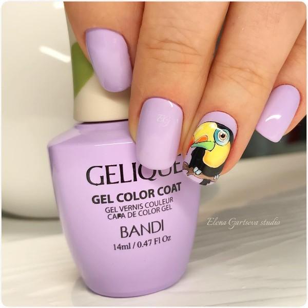 summer-parrot-nail-design
