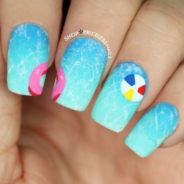 summer-swimming-pool-nail-art
