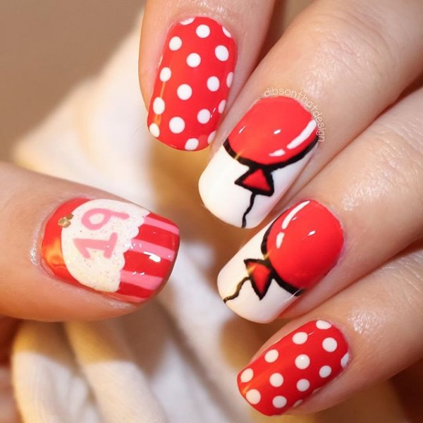 19-birthday-nails-red-balloons