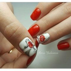 fall-wine-nail-design