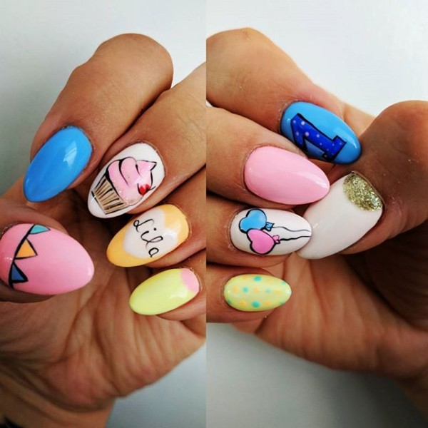 birthday-almond-nails-colorful