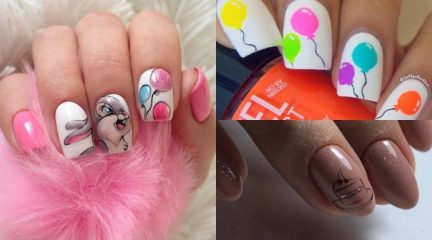 70 Ideas of Birthday Nails