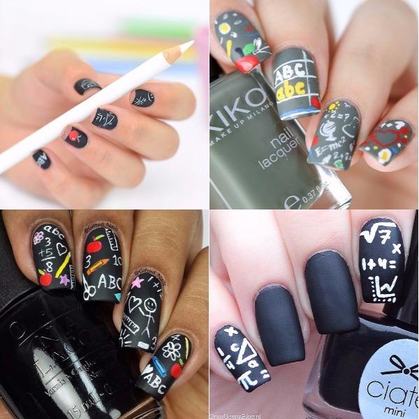 blackboard-back-to-school-nail-design