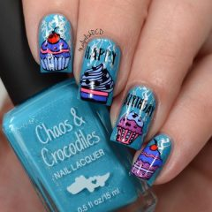 happy-birthday-nails-art-with-cupcake-decals
