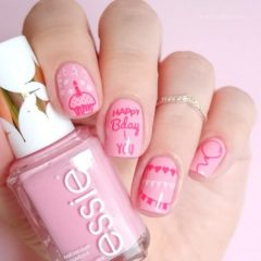 happy-birthday-nails-pink