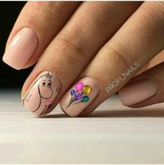 nude-bday-balloon-nail-design