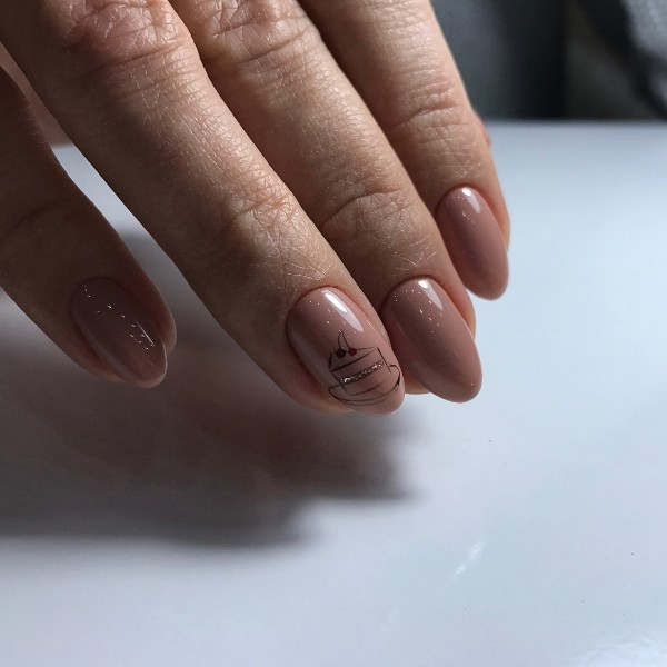 nude-beige-nails-for-birthday