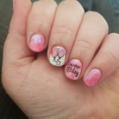 pink-birthday-nail-art-for-short-nails