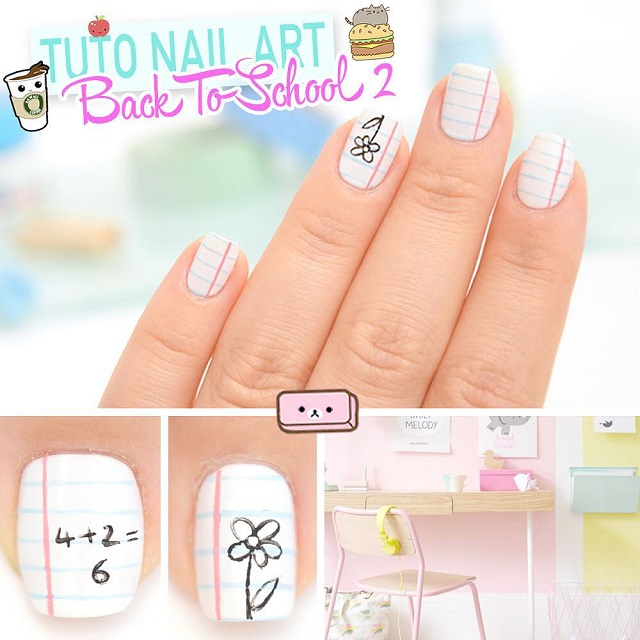 BACK to SCHOOL NAILS 2018 (Photo+Video) | Nailspiration.com