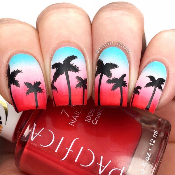 summer-sunset-manicure