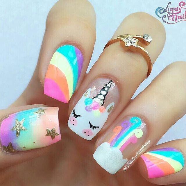 unicorn-back-to-school-nails