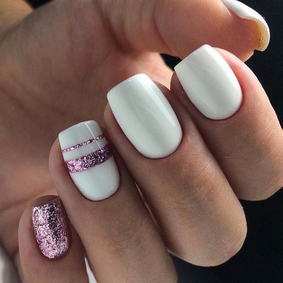 white-and-rose-pink-summer-mani