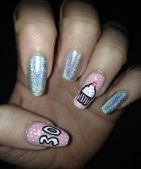 30th-birthday-nails