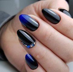 bue-and-black-fall-nails
