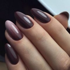 chocolate-brown-fall-ombre-nails