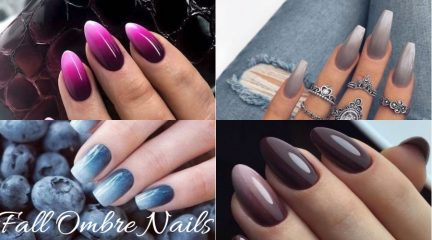40 Best Fall Ombre Nails to Copy This Autumn