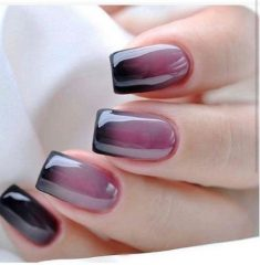 light-violet-to-dark-fall-ombre-nails