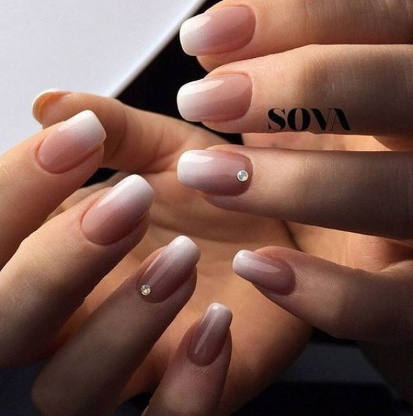 nude-fall-ombre-nails-with-rhinestones