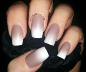 nude-ombre-nails-for-fall