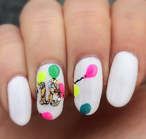 oval-white-nails-18th-birthday-with-baloons