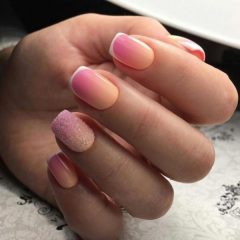peach-to-pink-fall-ombre-nails
