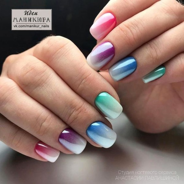 pearl-colorful-fall-ombre-nails