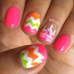 pink-birthday-cake-nail-design