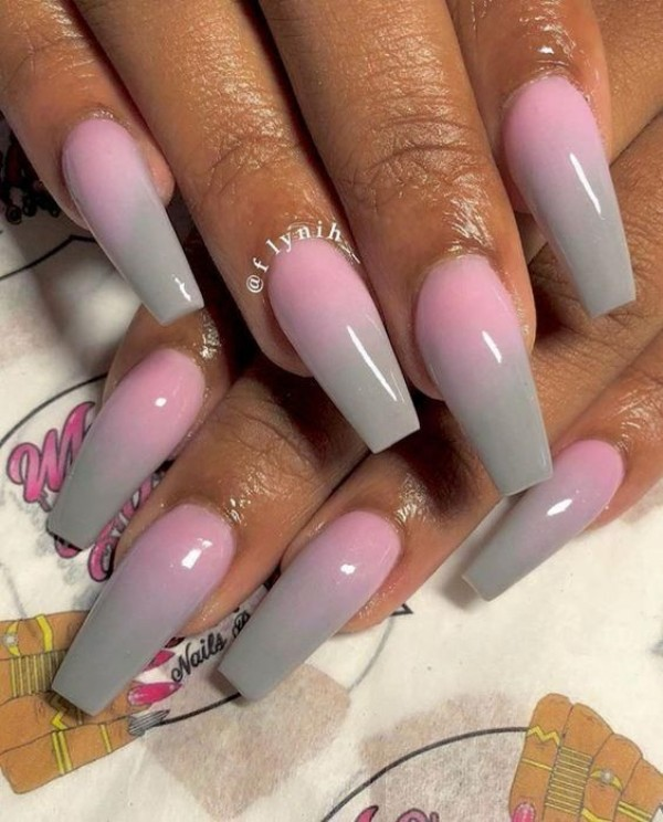 pink-gray-ombre-nails-for-autumn