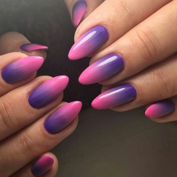 40 Fall Ombre Nails Youll Want To Copy Nailspiration