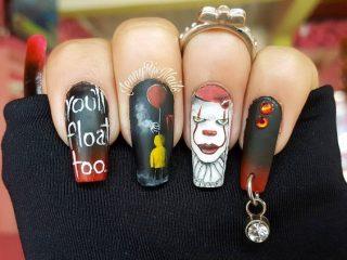 pierced halloween stephen king it nails