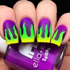 Green-Flame-Nails