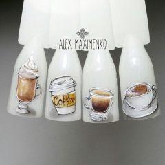 coffee-nail-designs