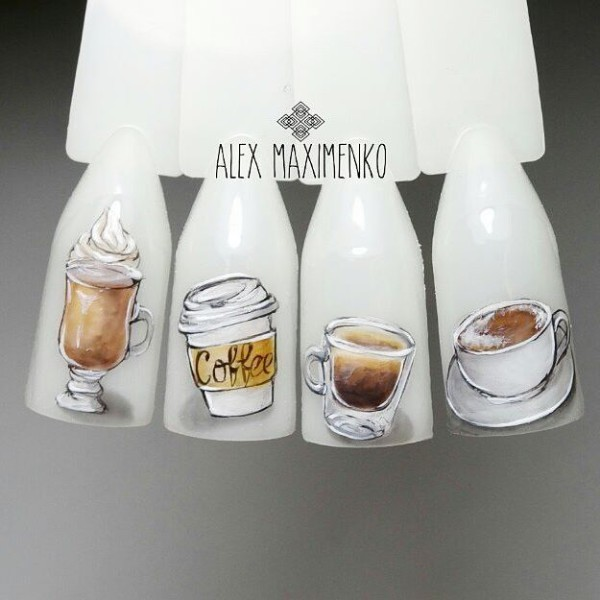 coffee-nail-designs