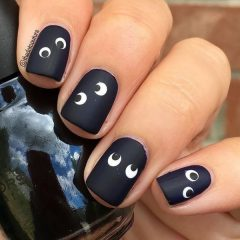 black-funny-halloween-nail-art-with-eyes