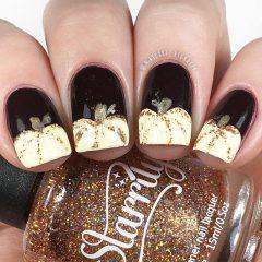 black-pumpkin-nails